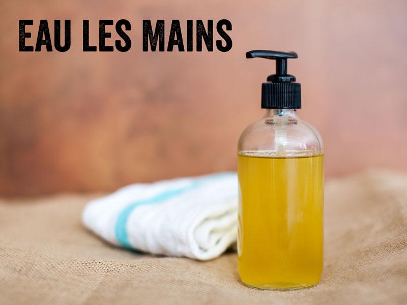 comment faire du savon liquide pour les mains