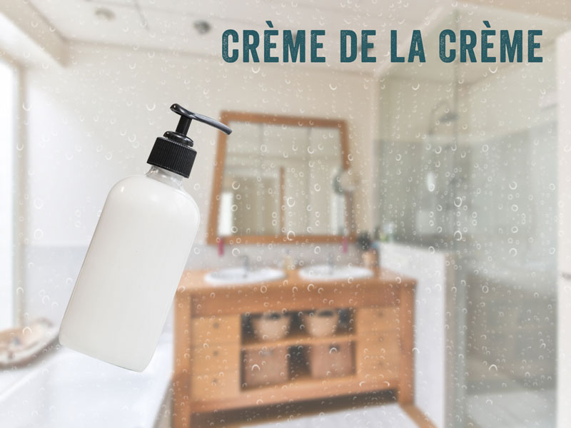 how to make shower cream