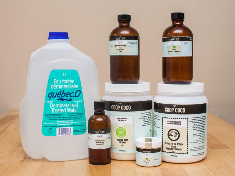 DIY household soap