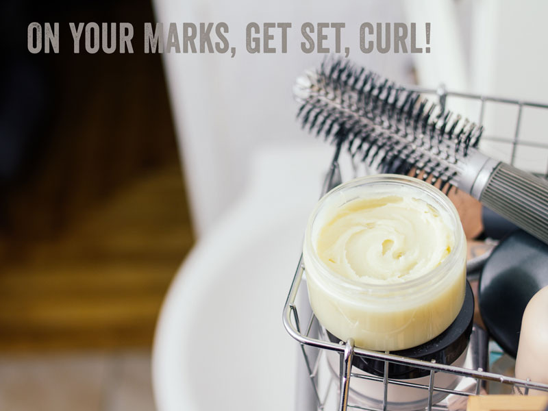 how to make hair mask for curly hair