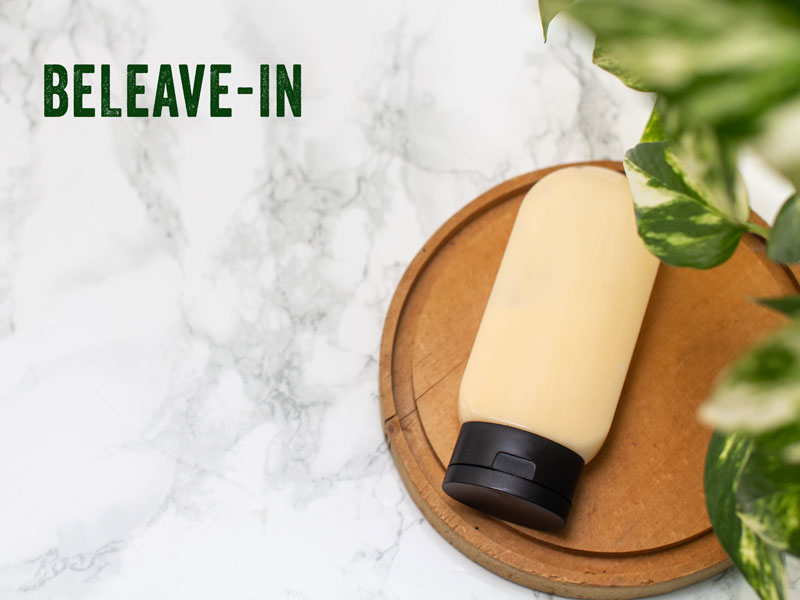homemade leave-in
