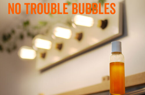 how to make bubble bath